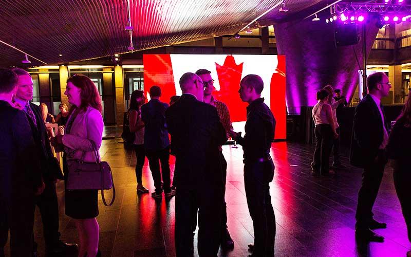 Evento de Canadá en el CCK